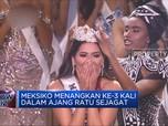 Andrea Meza Pemenang Miss Universe 2020