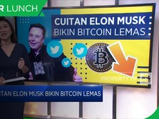 Cuitan Elon Musk Bikin Bitcoin Lemas