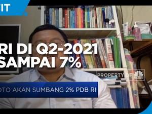 Diproyeksi Tumbuh, PDB Indonesia di Q2-2021 Tak Sampai 7%