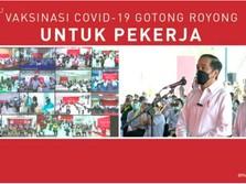 Jokowi: Cari Vaksin Gak Mudah, Harus Rebutan 215 Negara!