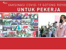 Jokowi: Target Vaksinasi Masih Jauh Sekali