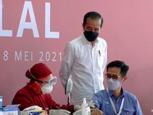 Keliling Bekasi, Jokowi Cek Vaksinasi Mandiri & Kereta Cepat