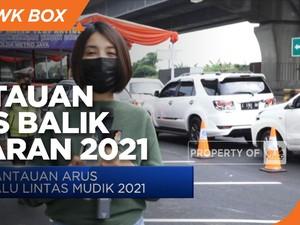 H+5 Lebaran, 29.417 Kendaraan Masuki Wilayah Jakarta