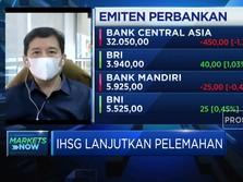 IHSG Melemah, Investor Masih Pantau Gerak Kasus Covid-19