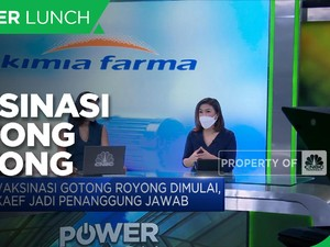 Kimia Farma Jadi Penanggung Jawab Vaksin Gotong Royong