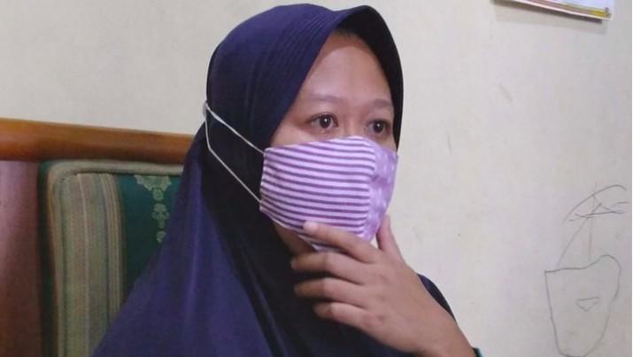 Melati yang terjerat 24 pinjol (Foto file: Muhammad Aminudin/detikcom)