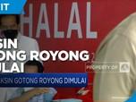 Presiden Joko Widodo Tinjau Vaksin Gotong Royong Perdana