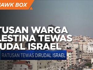 Ratusan Warga Tewas di Gaza Dirudal Israel