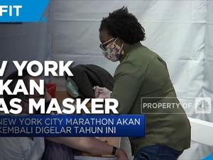 Pemerintah New York Izinkan Warganya Lepas Masker