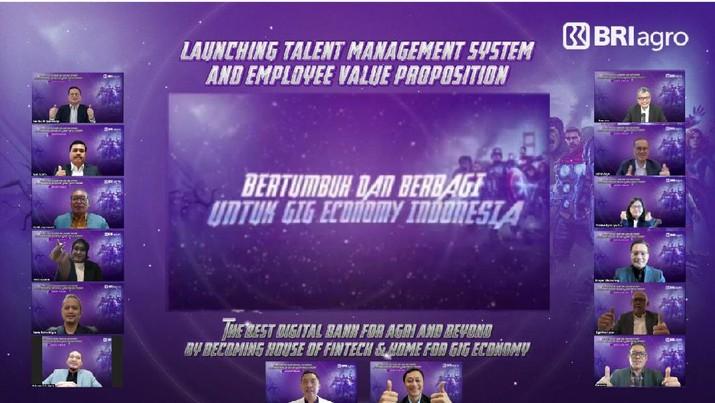PT Bank Rakyat Indonesia Agroniaga Tbk (BRI Agro) meluncurkan Talent Management System & Employee Value Proposition bersamaan dengan dilangsungkannya Rapat Kerja Transformasi BRI Agro.