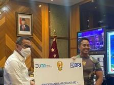 BRI Apresiasi Dedikasi TNI AD dalam Penanganan Covid-19