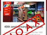 Beredar Info Kado Perayaan 40 Tahun, Pertamina: Itu Hoax!
