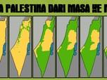 Melihat Peta Palestina Kini yang Makin Susut Tahun ke Tahun