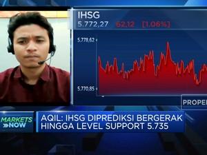Melemah di Atas 1%, IHSG Anjlok ke Level 5.700-an