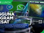 Salip WA, Jumlah Pengguna Telegram & Signal Melesat