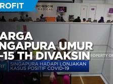 Singapura Izinkan Penduduk 12-15 Tahun Divaksin Covid-19