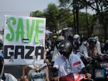 Potret Massa Aksi Bela Palestina di Tangerang Banten