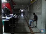 Potret Sepi Pasar Tanah Abang Selepas Libur Lebaran 2021