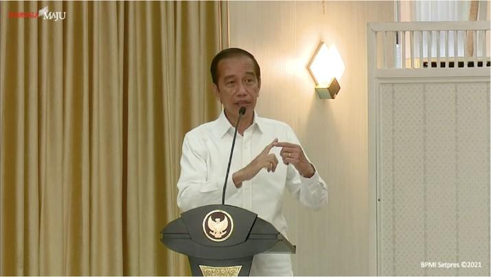 foto/ Pengarahan Presiden RI kepada Forkopimda Se-Provinsi Riau, Pekanbaru, 19 Mei 2021/ Youtube : Setpres