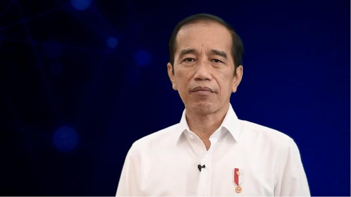 foto/ Sambutan Presiden Jokowi pada Peluncuran Program Literasi Digital Nasional, 20 Mei 2021/Youtube : Setpres