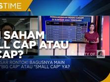 Pasar Saham Anjlok, Pilih Saham Small Cap atau Big Cap?