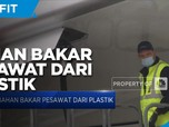 Peneliti Klaim Berhasil Buat Bahan Bakar Pesawat dari Plastik