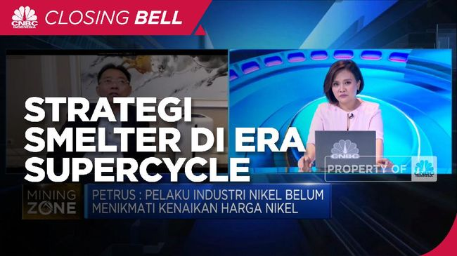 PURE Strategi Smelter Manfaatkan Periode Commodities Supercycle