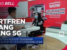 Tok! Smartfren Menang Lelang 5G