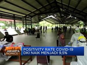 Positivity Rate Covid-19 DKI Naik Menjadi 9,5%