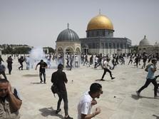Bentrok Lagi di Masjidil Aqsa, PBB 'Warning' Israel-Palestina