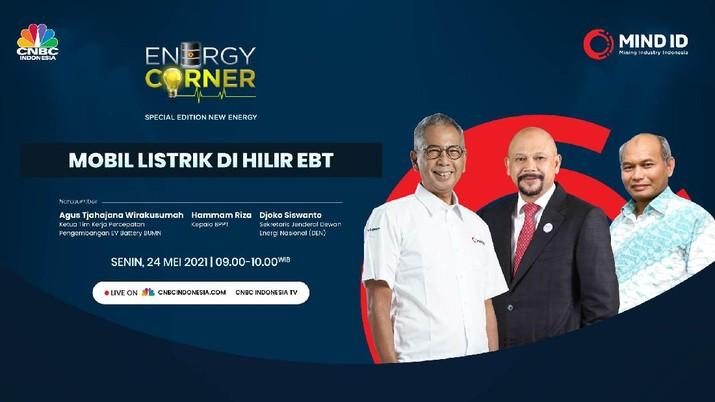 Energy Corner yang mengambil tema