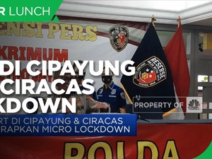2 RT di Cipayung & Ciracas Terapkan Micro Lockdown