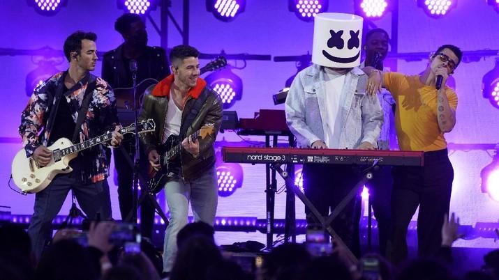 Billboard music award 2021. (AP/Chris Pizzello)