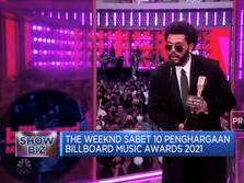 The Weeknd 'Borong' Billboard Music Awards 2021
