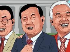Ini Dia Top 3 Capres 2024, Prabowo Kandidat Terkuat