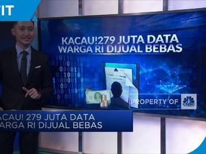 Kacau! 279 Juta Data Warga RI Dijual Bebas