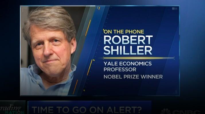 Robert Shiller, Pemenang Nobel