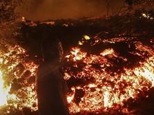 Mencekam, Potret Warga Kongo Evakuasi saat Gunung Api Meletus