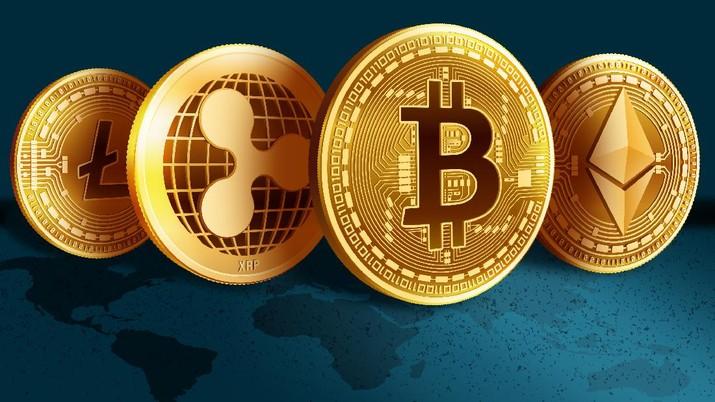 Ilustrasi/ Cryptocurrency / Aristya Rahadian