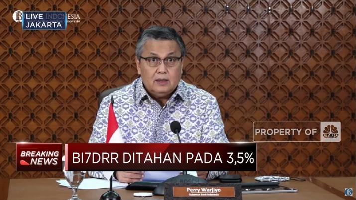 Percepat Pemulihan Ekonomi,  BI Tahan Suku Bunga Acuan di 3,5% (CNBC Indonesia TV)