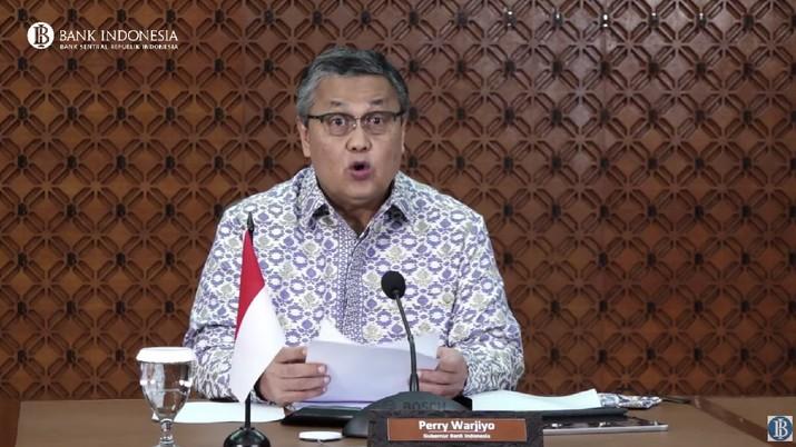 Perry Warjiyo, Bank Indonensia. (Tangkapan layar Youtube Bank Indonesia)