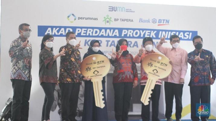 BP Tapera Salurkan Pembiayaan KPR Ke 11 Ribu ASN. (CNBC Indonesia/Syahrizal Sidik)