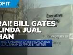Cerai! Bill & Melinda Gates Jual Semua Saham Apple & Twitter
