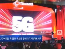 Telkomsel Resmi Rilis 5G di Tanah Air