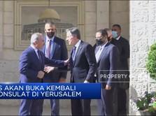 AS Akan Buka Lagi Konsulat di Yerusalem