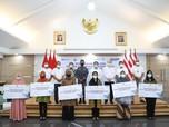 Pelindo Bersatu Berikan Tali Asih pada Keluarga KRI Nanggala