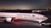 Perdagangan Saham Garuda Indonesia Dibekukan