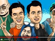 Raffi Ahmad-Atta Halilintar, 5 Youtuber RI Gaji Tertinggi