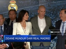 Zinedine Zidane Pamit dari Real Madrid