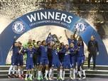 Selamat! Euforia Kemenangan Chelsea usai Juara Liga Champions